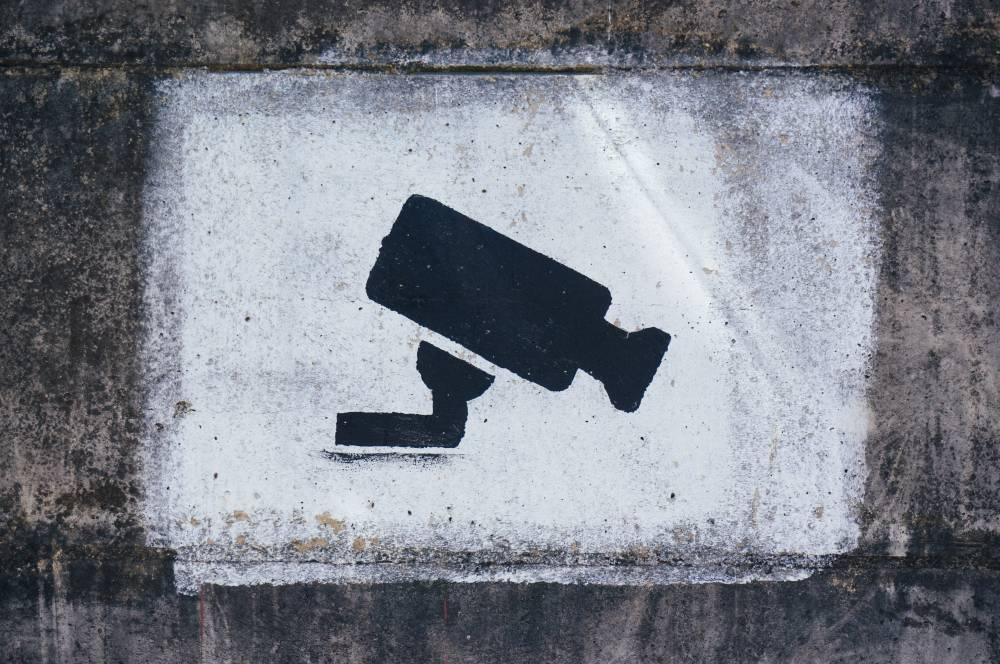 cctv stencil