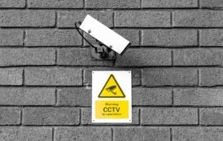 cctv camera warning